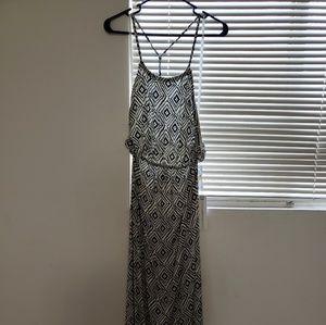 NWT Oneill maxi high halter dress